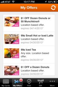 Dunkin Offers