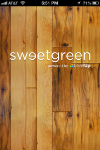 sweetgreen splash screen